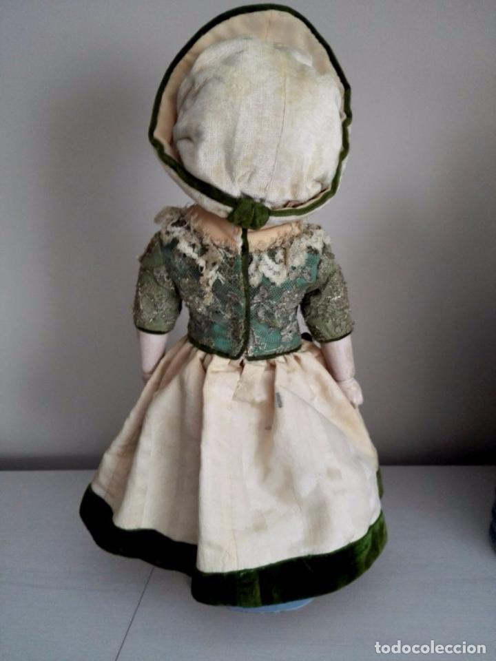 Muñecas Extranjeras: Muñeca tipo MOTSCHMANN, basada en las Ichimatsu, de cera de 1854, todo original. - Foto 2 - 97800551