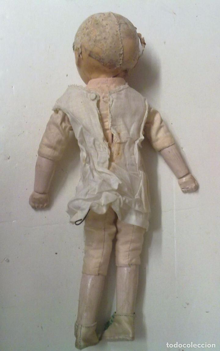 Muñecas Extranjeras: Muñeca tipo MOTSCHMANN, basada en las Ichimatsu, de cera de 1854, todo original. - Foto 9 - 97800551