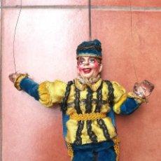 Muñecas Extranjeras: ANTIGUA MARIONETA-TITERE, AÑO 1912-20,FABRICACION CHECA,MARCA MUNZBERGOVY LOUTIK,PRINCIPE,DE TEATRO. Lote 98552631