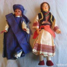 Muñecas Extranjeras: 2 MUÑECAS EN TRAJE TRADICIONAL. Lote 99145299