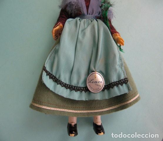Muñecas Extranjeras: 2 Preciosas Muñecas Antiguas Lenci 1950 - Foto 8 - 99257303