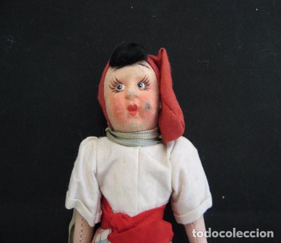 Muñecas Extranjeras: 2 Preciosas Muñecas Antiguas Lenci 1950 - Foto 9 - 99257303
