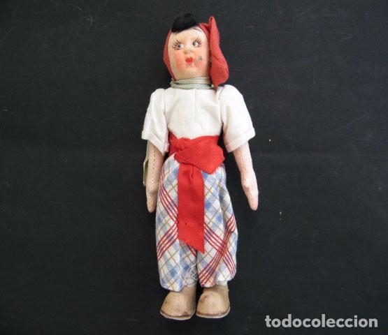 Muñecas Extranjeras: 2 Preciosas Muñecas Antiguas Lenci 1950 - Foto 11 - 99257303
