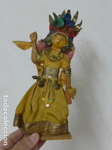 Muñecas Extranjeras: Lote 4 antiguos muñecos o muñecas, muñeca antigua, muñeco antiguo, orientales, hindu. Originales. - Foto 4 - 100512179