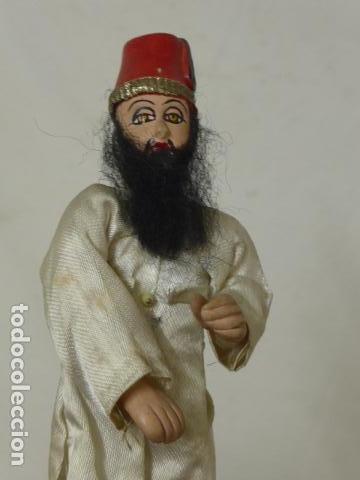 Muñecas Extranjeras: Lote 4 antiguos muñecos o muñecas, muñeca antigua, muñeco antiguo, orientales, hindu. Originales. - Foto 6 - 100512179