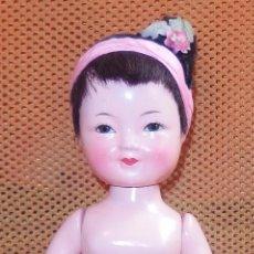 Muñecas Extranjeras: MUÑECA ORIENTAL DE COMPOSICIÓN,AÑOS 50. Lote 102588891