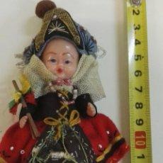 Muñecas Extranjeras: MUÑECA CELULOIDE O SIMILAR ANTIGUA ESTILO NORTE DE EUROPA. Lote 102985851