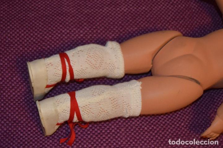 Muñecas Extranjeras: ANTIGUA MUÑECA - Marca RATTI - ITALIA - OJOS DURMIENTES PASTA / CELULOIDE - HAZ OFERTA - Foto 11 - 103338531