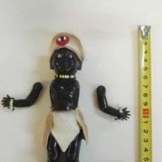 Muñecas Extranjeras: MUÑECO ZULÚ ANTIGUO DE SUD-ÁFRICA. Lote 104098743