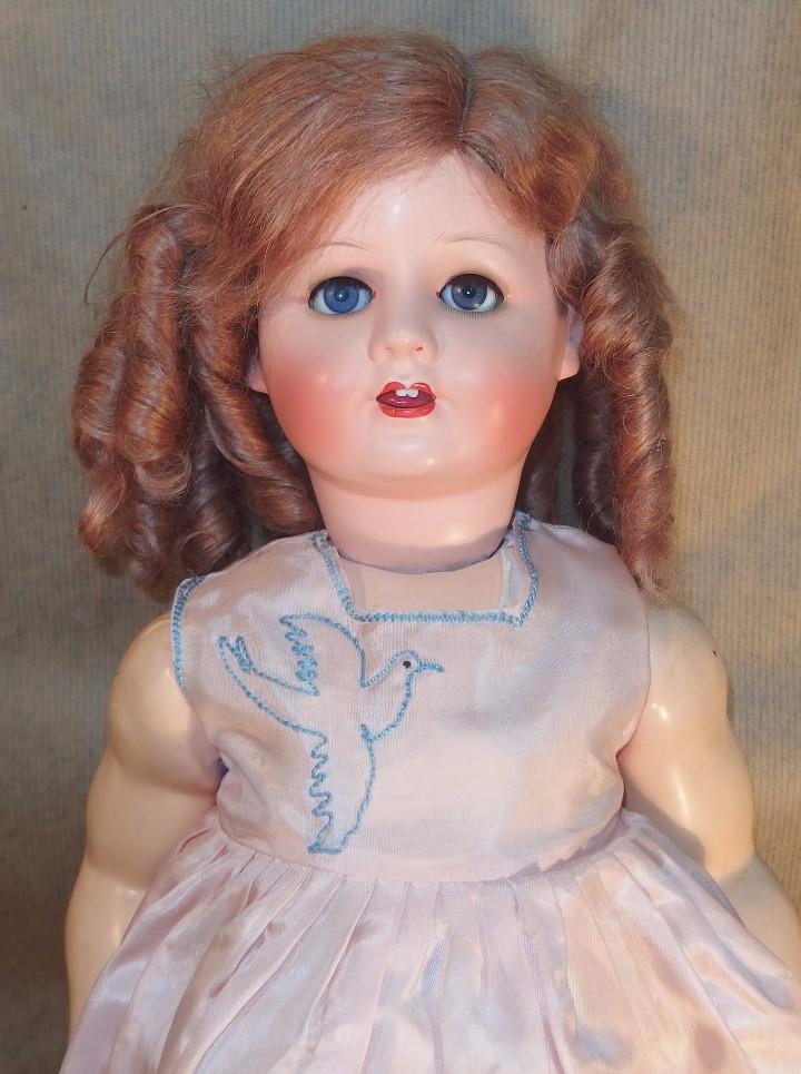 Muñecas Extranjeras: MUÑECA DE CABEZA DE CERÁMICA Y CUERPO DE COMPOSICIÓN,GERMANY,CAJA ORIGINAL,AÑOS 30 - Foto 3 - 104683031