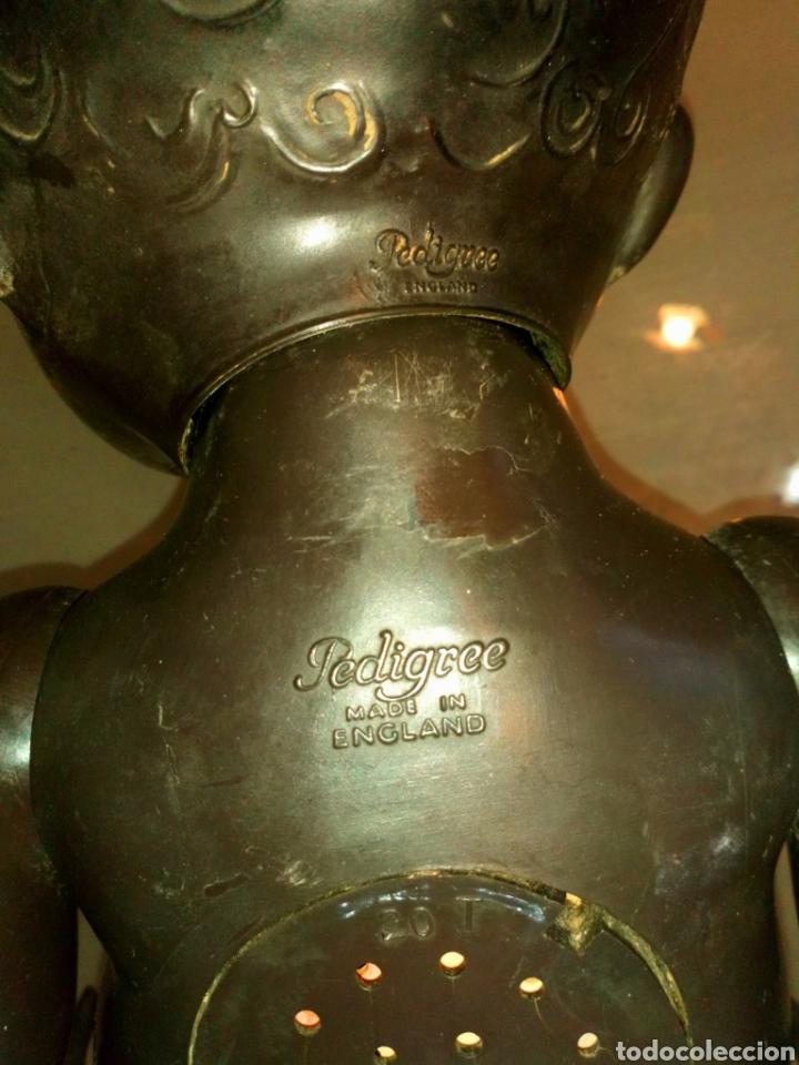 Muñecas Extranjeras: BEBE MARCA PEDIGREE. ENGLAND. OJOS FLIRTY AÑOS 40-50 CELULOIDE DURO MUEVE LOS OJOS DE IZQ A DERECHA - Foto 7 - 105288831