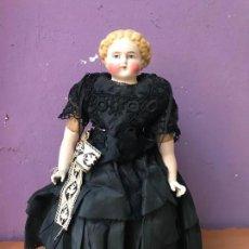 Muñecas Extranjeras: IMPRESIONANTE CHINA DOLL 1880 - PORCELANA SIGLO XIX - 35 CM APROX. Lote 105850003