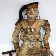 Muñecas Extranjeras: GRAN MARIONETA BIRMANA. TÍTERE. SIGLO XIX. Lote 105978323