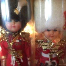 Muñecas Extranjeras: LOTE 2 MUÑECOS ANTIGUOS OJOS SE ABREN Y SE CIERRAN. Lote 106582439