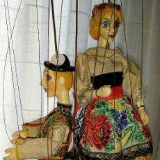Muñecas Extranjeras: MARIONETA DE LOS AÑOS 50 - 60. Lote 106666479