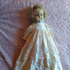 International Dolls - MUY ANTIGUA MUÑECA DE CERA SOBRE COMPOSICION DE 60 cm. - 107388863