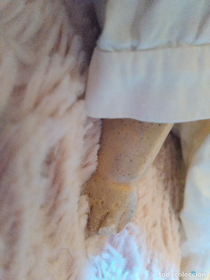 Muñecas Extranjeras: MUY ANTIGUA MUÑECA DE CERA SOBRE COMPOSICION DE 60 cm. - Foto 3 - 107388863