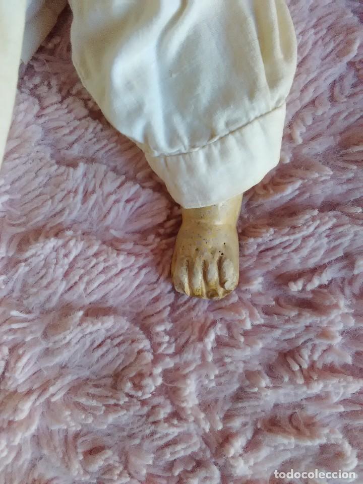 Muñecas Extranjeras: MUY ANTIGUA MUÑECA DE CERA SOBRE COMPOSICION DE 60 cm. - Foto 4 - 107388863