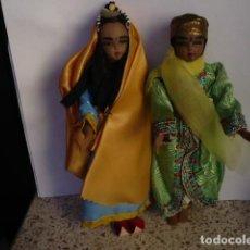 Muñecas Extranjeras: MUÑECOS DE LA INDIA CON ATUENDOS TIPICOS COLECCIÓN. Lote 107731899
