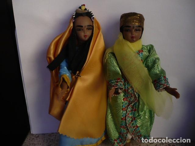 Muñecas Extranjeras: MUÑECOS DE LA INDIA CON ATUENDOS TIPICOS COLECCIÓN - Foto 3 - 107731899