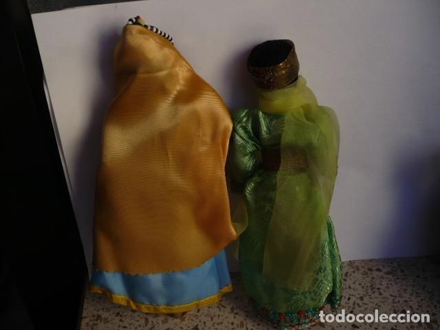 Muñecas Extranjeras: MUÑECOS DE LA INDIA CON ATUENDOS TIPICOS COLECCIÓN - Foto 4 - 107731899