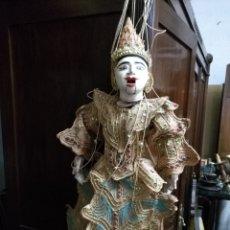International Dolls - PRECIOSA MARIONETA ANTIGUA TAILANDESA TOTALMENTE ARTICULADA GRAN FORMATO VER FOTOS - 109064486