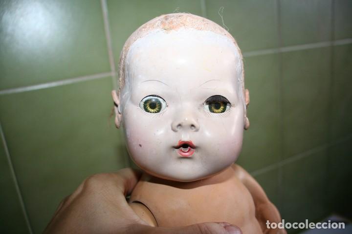 ANTIGUO MUÑECO PARA RESTAURAR DY-DEE BABY EFFANBEE BAY (Juguetes - Muñeca Extranjera Antigua - Otras Muñecas)