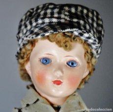 Muñecas Extranjeras: ANTIGUO MUÑECO FIELTRO -INGLES. Lote 110668283