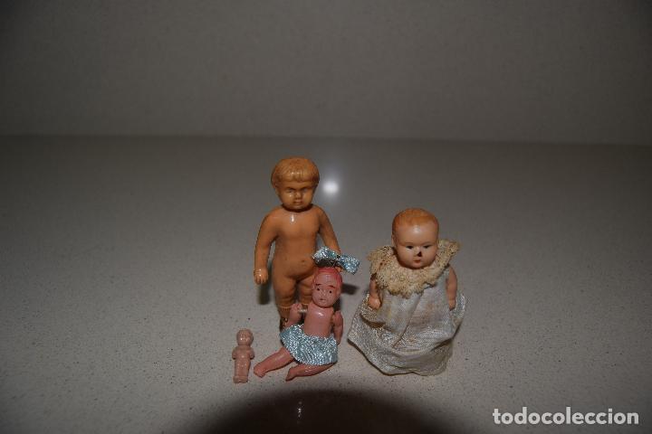 Muñecas Extranjeras: muñecos de celuloide marcados tortuga - Foto 2 - 111064383