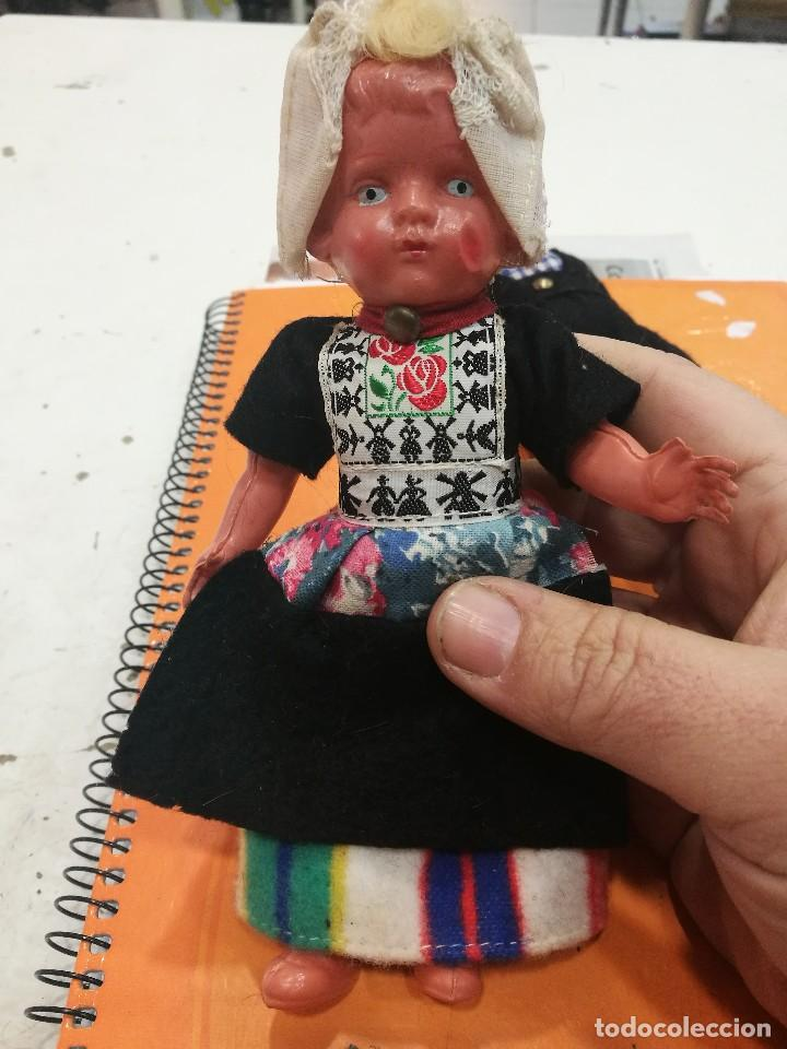 Muñecas Extranjeras: Lote de seis muñecas y muñecos tradicionales años 50/60 - Foto 3 - 111279847