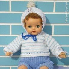 Muñecas Extranjeras: MUÑECA BEBÉ ANTIGUA AMERICANA BABY BIG EYES DE IDEAL DOLL, AÑOS 50. Lote 112937187