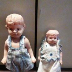 Muñecas Extranjeras: MUÑECA PEQUEÑA CELULOIDE LOTE DE DOS. Lote 112978122