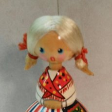 Muñecas Extranjeras: MUÑECA DE MADERA USSR. Lote 113125179