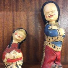 Muñecas Extranjeras: DOS MUÑECAS INDIAS(40€). Lote 113189679