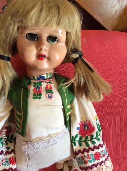 Muñecas Extranjeras: MUÑECA ANTIGUA. ¿HOLANDA?. ANDADORA - Foto 3 - 113846723