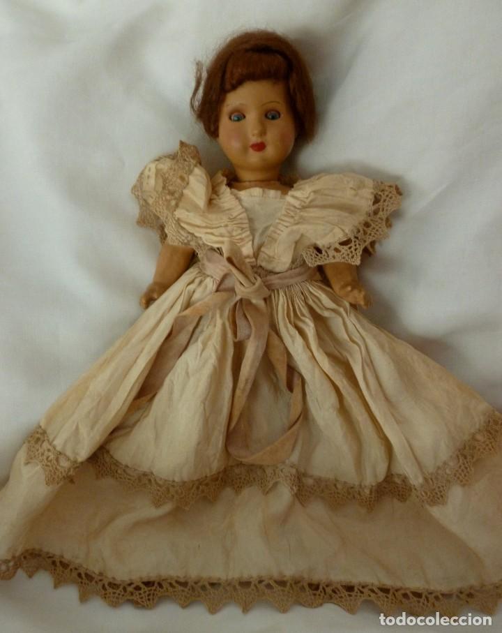 Muñecas Extranjeras: ANTIGUA MUÑECA ALEMANA WW 5/0 - AÑOS 40 - Foto 3 - 114631079