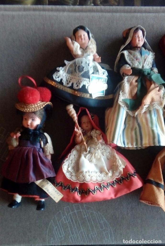 Muñecas Extranjeras: Lote de 6 muñecas de plastico duro - Foto 2 - 114921227