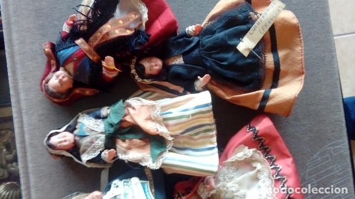 Muñecas Extranjeras: Lote de 6 muñecas de plastico duro - Foto 3 - 114921227