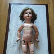 Muñecas Extranjeras: ANTIGUA MUÑECA JUMEAU. MEDAILLE D'OR PARIS. LEER DESCRIPCION.. Lote 116179635