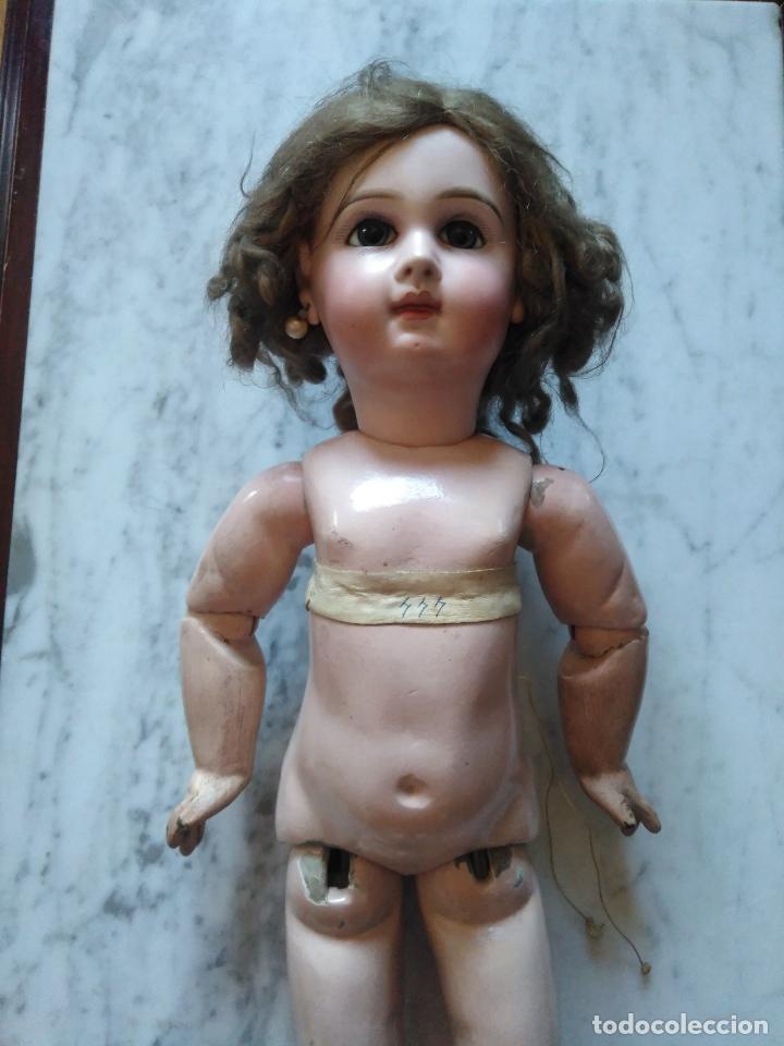 Muñecas Extranjeras: ANTIGUA MUÑECA JUMEAU. MEDAILLE D'OR PARIS. LEER DESCRIPCION. - Foto 2 - 116179635