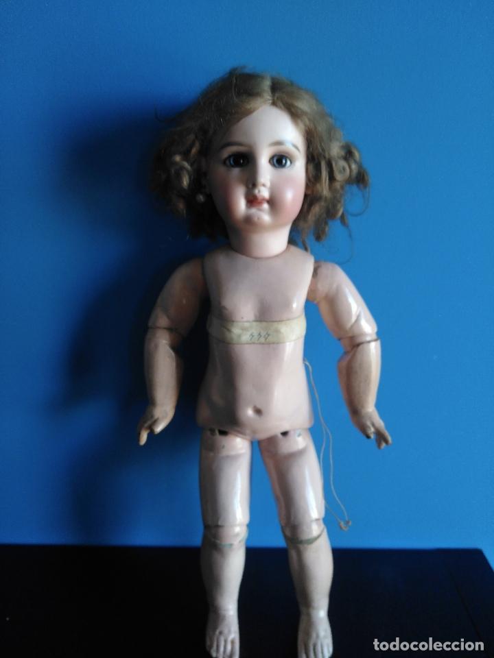 Muñecas Extranjeras: ANTIGUA MUÑECA JUMEAU. MEDAILLE D'OR PARIS. LEER DESCRIPCION. - Foto 15 - 116179635