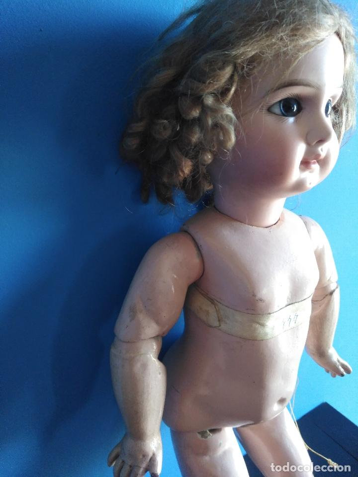Muñecas Extranjeras: ANTIGUA MUÑECA JUMEAU. MEDAILLE D'OR PARIS. LEER DESCRIPCION. - Foto 18 - 116179635
