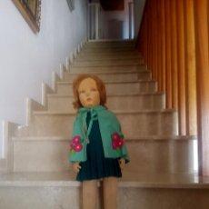 Muñecas Extranjeras: MUÑECA ORIGINAL DE LA CASA LENCI. AÑOS 30. LENCY. MODELO ALICE. Lote 117474291
