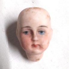 Muñecas Extranjeras: CABEZA MUÑECA PORCELANA 2,5 CM. Lote 117491787