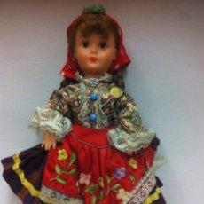 Muñecas Extranjeras: MUÑECA DE NAZARET PORTUGAL SIN MARCA CON FALDA CON MUCHAS CAPAS. Lote 117834399