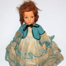 Muñecas Extranjeras: MUÑECA ORIGINAL DE LA CASA LENCI. AÑOS 30. LENCY. Lote 118270795