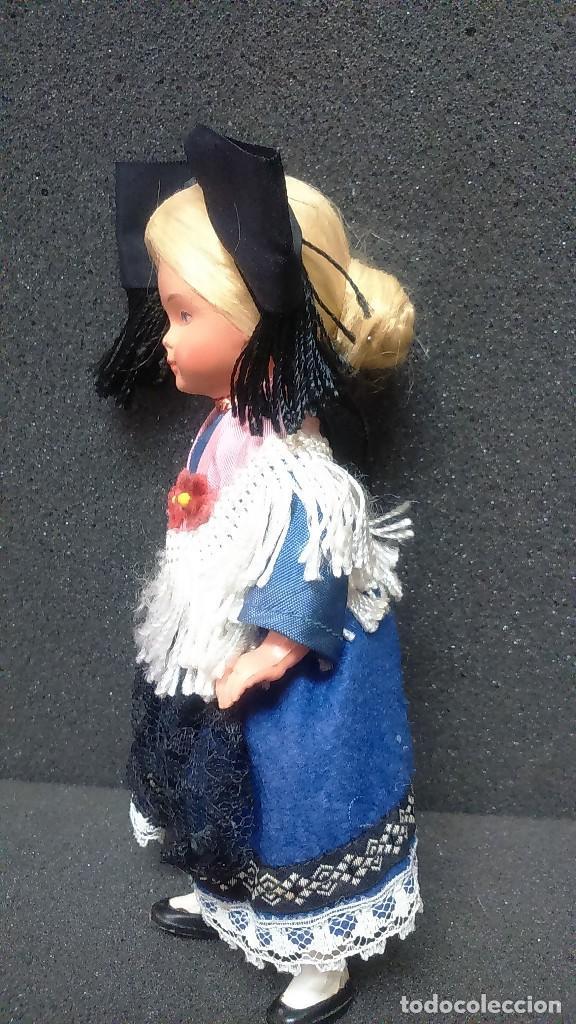 Muñecas Extranjeras: Pequeña muñeca regional folklórica alemana o francesa vintage años 50 - Foto 3 - 119554463