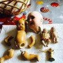 Muñecas Extranjeras: LOTE DE MUÑECOS ANTIGUOS. Lote 121424910