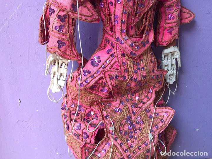 Muñecas Extranjeras: Gran Marioneta tailandesa con articulacion en dedos pies boca etc. - articulada - Foto 4 - 122486771
