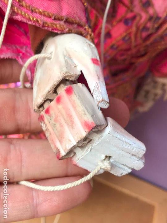 Muñecas Extranjeras: Gran Marioneta tailandesa con articulacion en dedos pies boca etc. - articulada - Foto 7 - 122486771